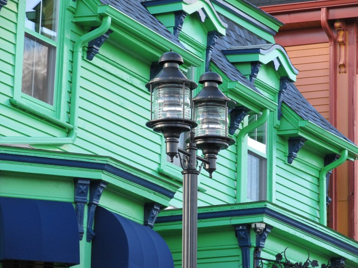 Lunenburg Streetlamp Detail