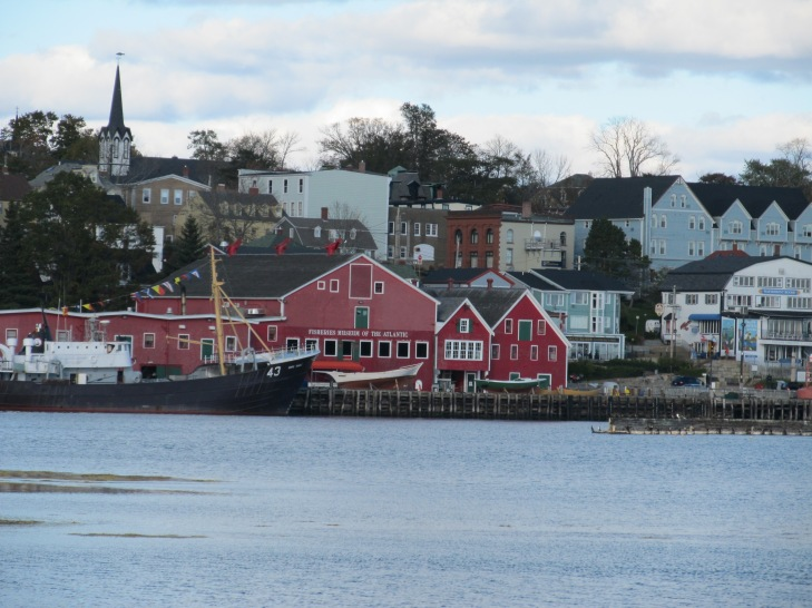 Lunenburg Downtown from Golf Course