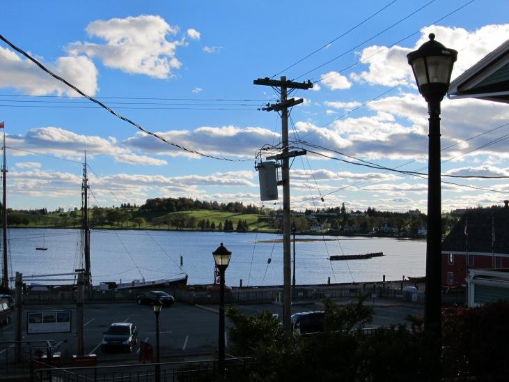 Lunenburg Utility Pole in view