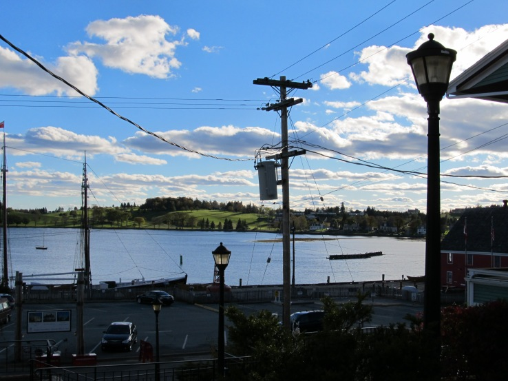 Lunenburg Utility Pole in view