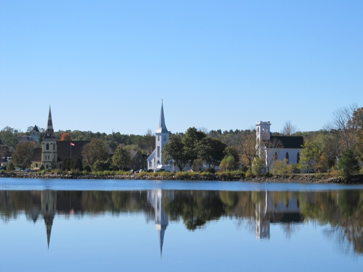 Mahone Bay 3 Churches