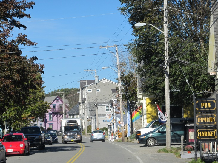 Mahone Bay Ugly Streetscape