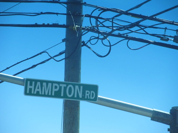 Hampton Road Sign