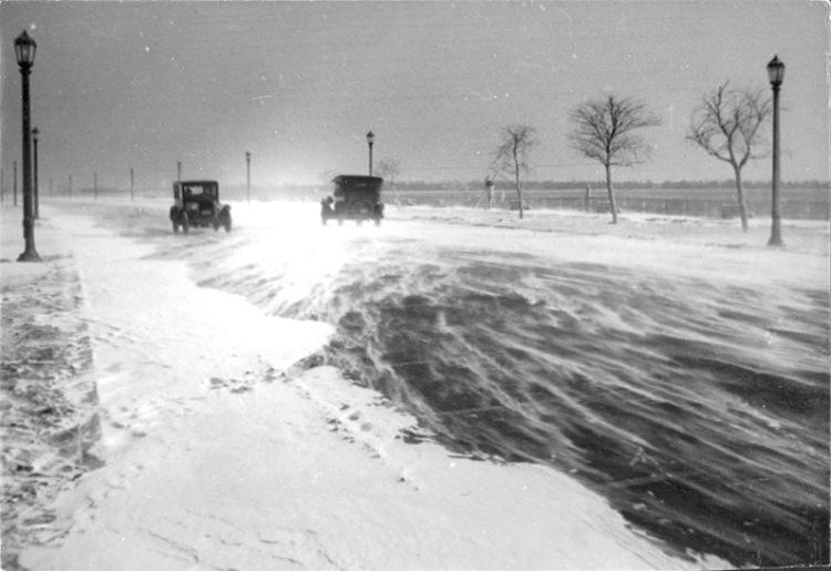 Toronto Lakeshore_Boulevard_Winter_1925