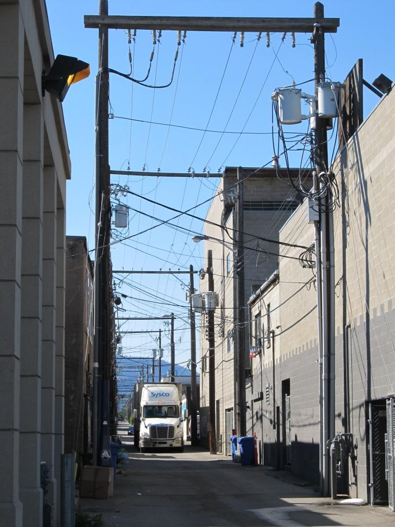 BC rear lot utility corridor