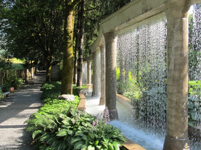 Chilliwack narrow water feature park