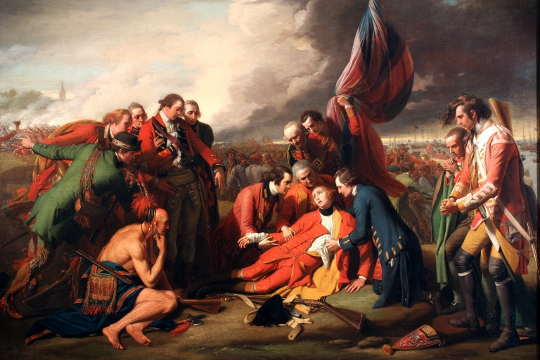 Death of General Wolf Benjamin_West