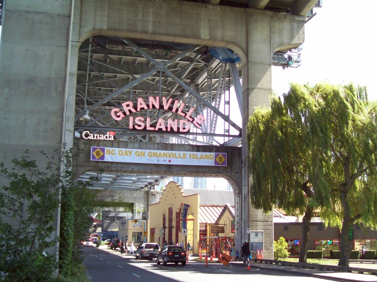 Granville Island Under-bridge 3