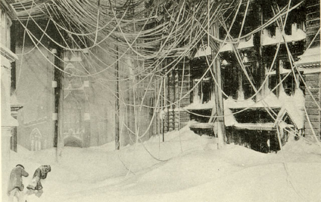 Great blizzard 1888
