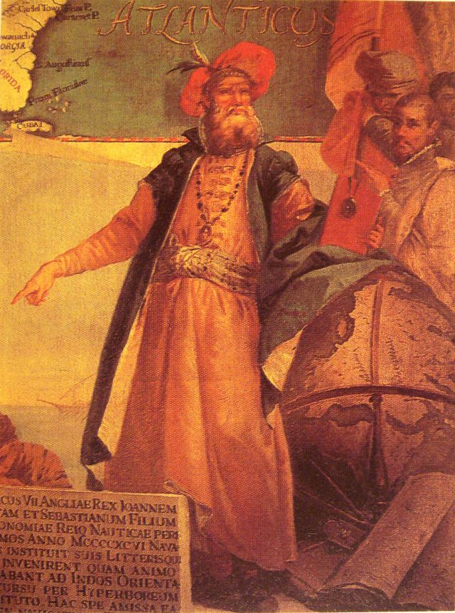 John Cabot Painting