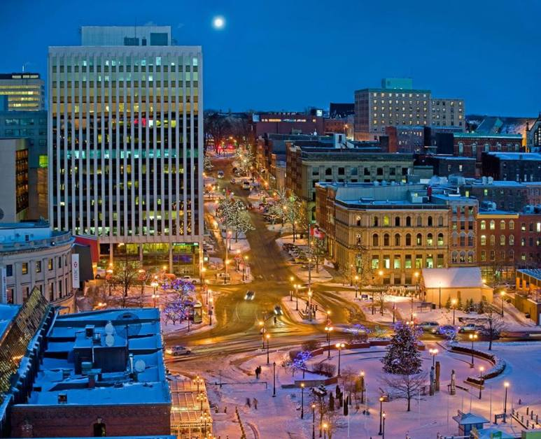 Saint John King Street Winter 2014