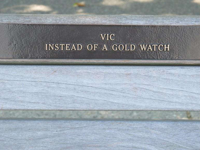 Vancouver Ceremonial Park Bench