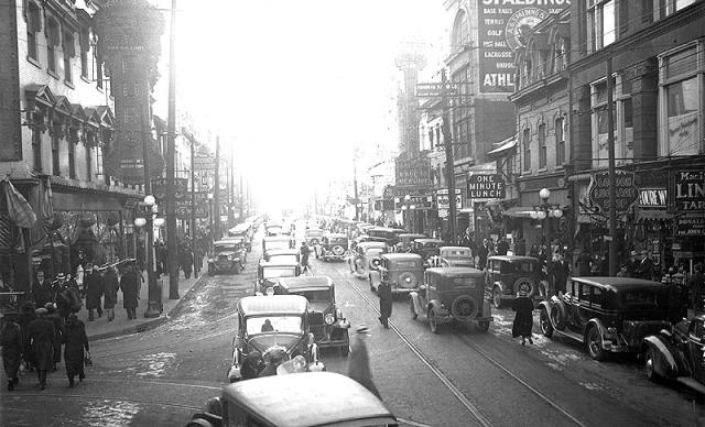 Yonge St 1935