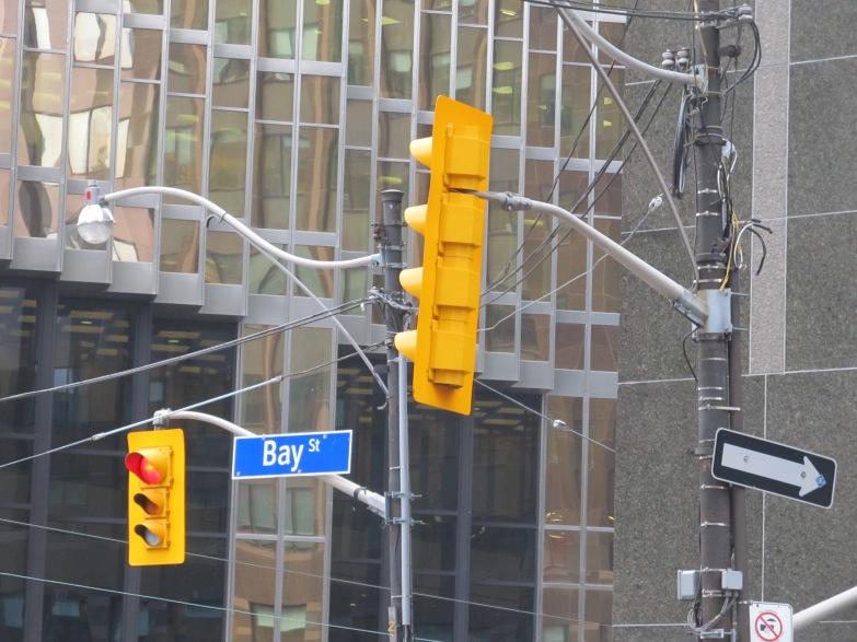 Bay Street Toronto 2014