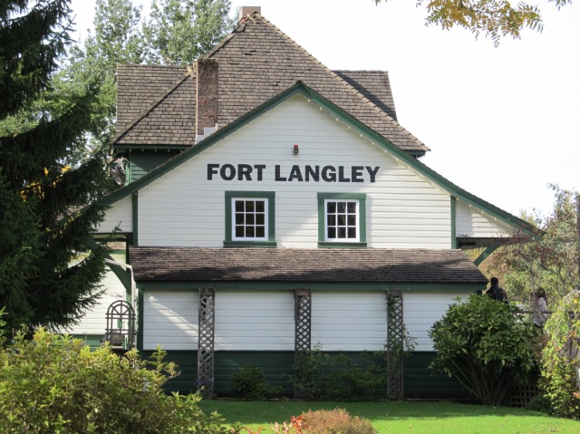 Fort Langley train station