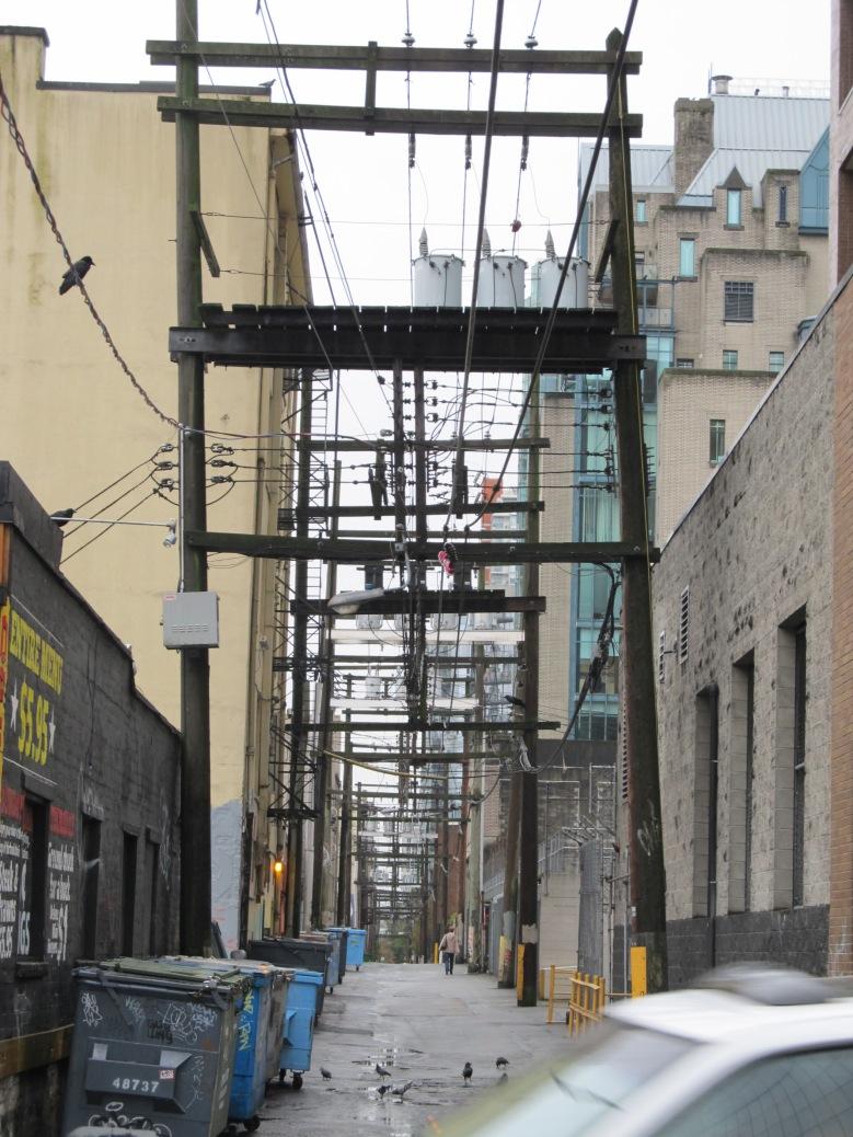Vancouver utility corridor